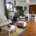 Salon et Séjour de l'appartement T2 de la villa Rosaland
