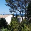 Vue mer depuis la terrasse et le balcon de l'appartement T2