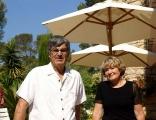 Danny et Raymond Berjon propriétaire de la Villa Rosaland