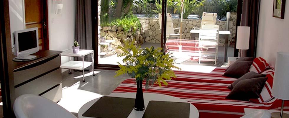Location d'un studio vacances à Saint Raphael